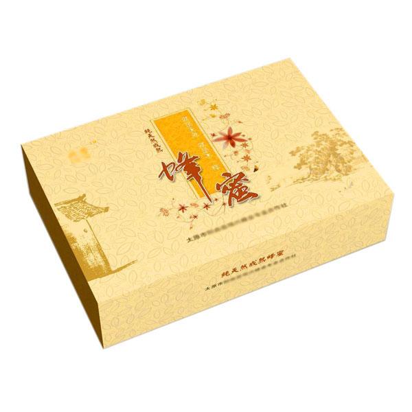 纯天然成熟蜂蜜包装盒